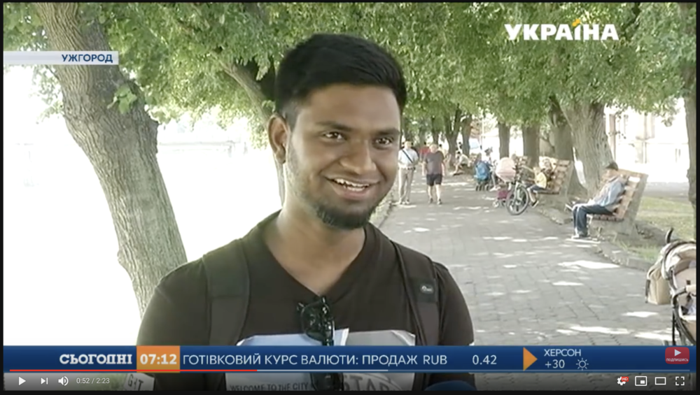 Україна - TV Ukraine - Exclusive interview on the national TV of Ukraine about my life and passion for photography and my work. TO WATCH THE VIDEO, CLICK ON THE IMAGE.