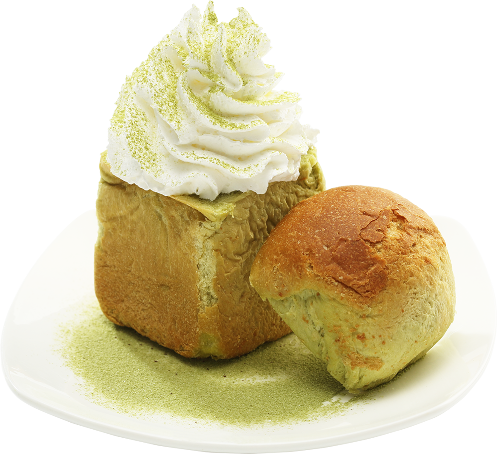 Mini Green Tea Honey Bread