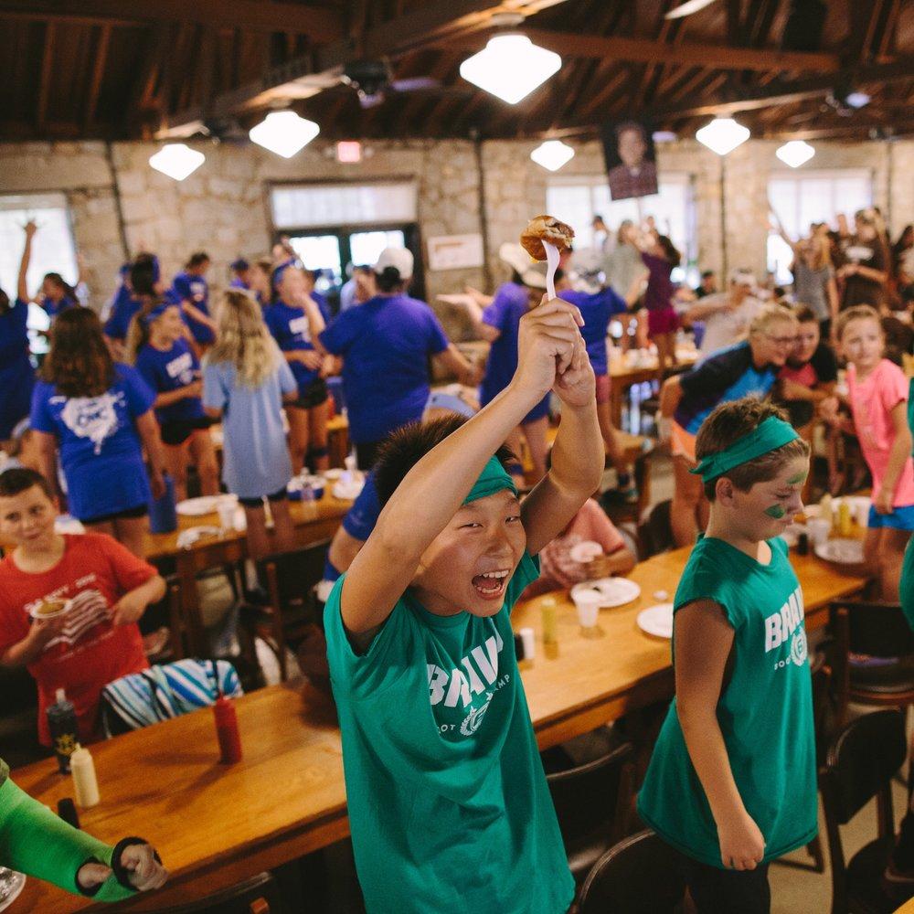 fall 2018 - 6th grade camp