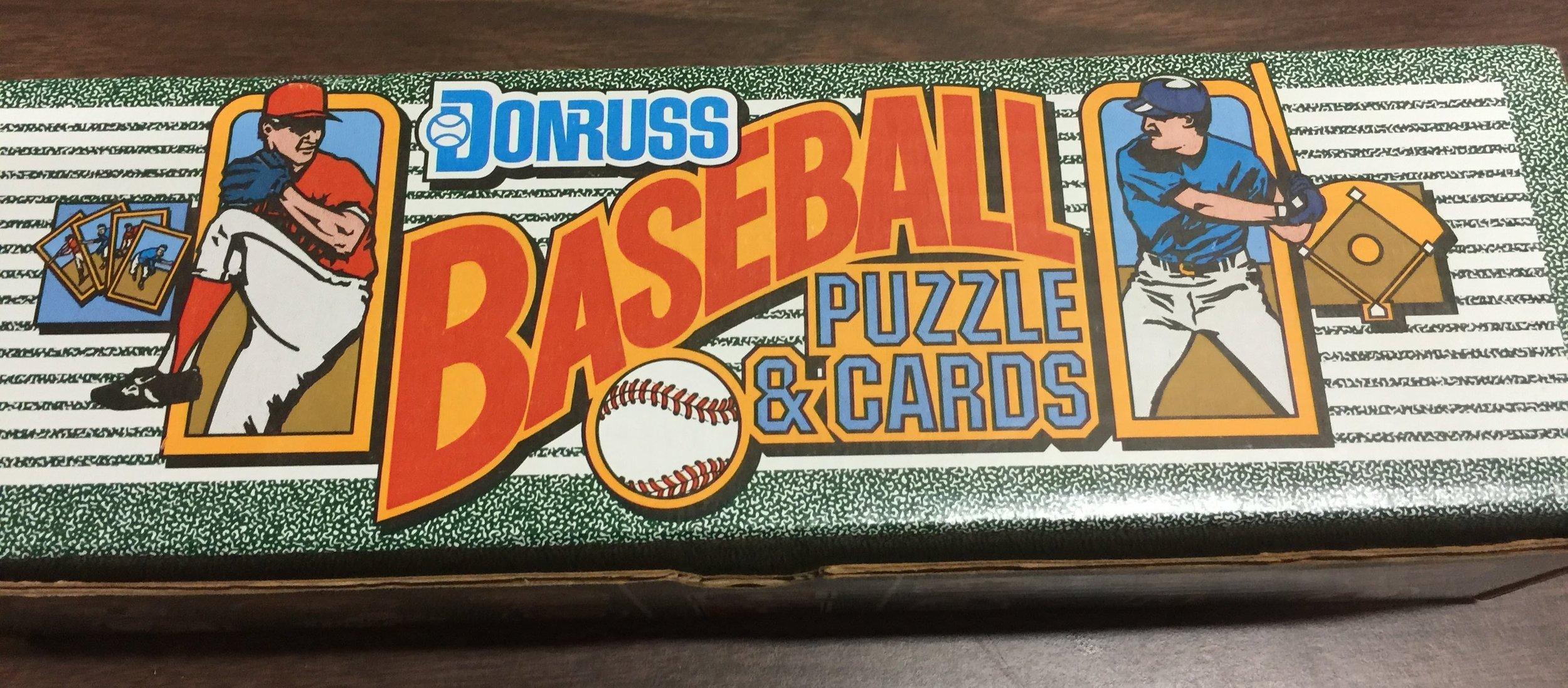 1990 Donruss Baseball Complete Factory Sealed Set