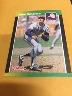 John Smoltz Atlanta Braves 1989 Donruss Rookie Card