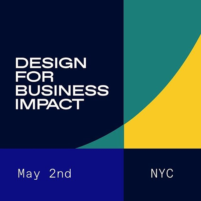 NYC peeps! We're helping bring @designerfund's Design for Business Impact event east on May 2nd. COME HANG. designerfund.com/designforbusinessimpact