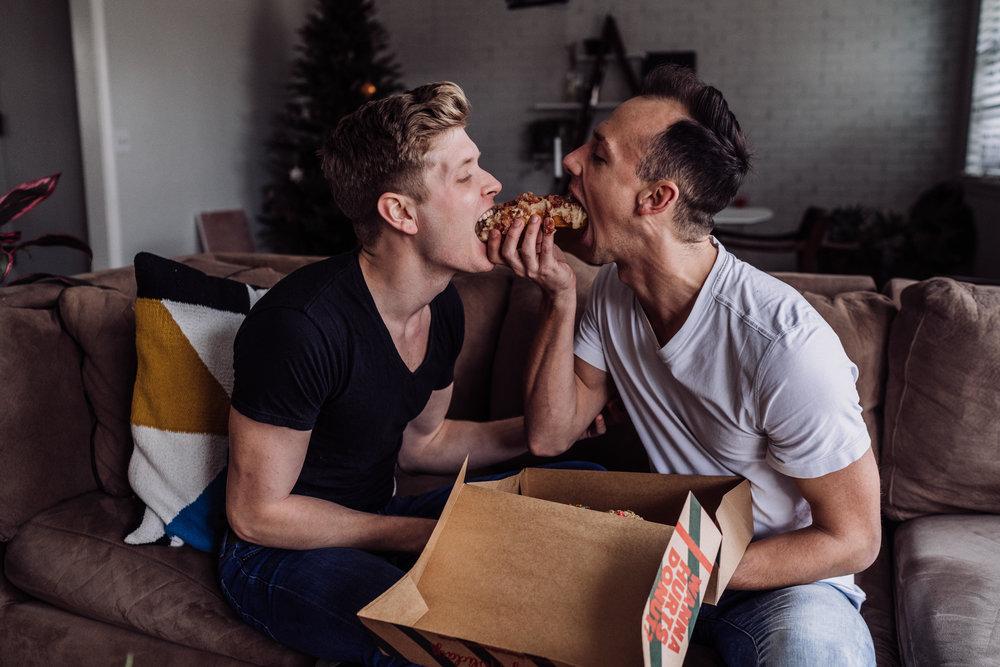 Oklahoma City Couples Boudoir LGTBQ same sex boyfriends