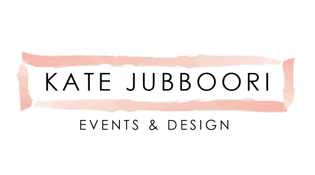 KATE JUBBOORI | Events & Design