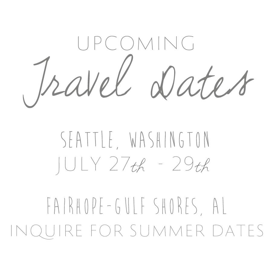 Summer Travel Dates
