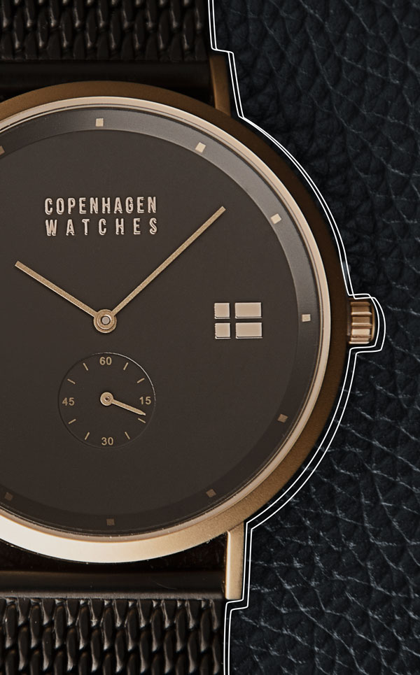 The classic Frederiksberg watch