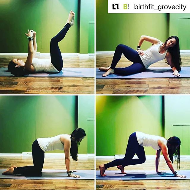 Slow is Fast! We start with foundational movements and progress into functional training, yoga, sports or any other movement practice you love! #birthfit #fitness #nutrition #mindset #connection #birthfitdavenport #motherhoodmattersqc #dns #functionalprogression  #Repost @birthfit_grovecity with @get_repost ・・・ We talk a lot about Dynamic Neuromuscular Stabilization and you may wonder what that is or why it is so important. DNS is essential to improve and achieve optimal movement. Your muscles form in a very natural way during your first year of life but bad habits in movement (or lack there of) and posture can lead to pain and issues as an adult.  We use DNS exercises to mimic those muscles forming moves and retrain your body's stabilization and dynamic (movement producing) functions. Please keep in mind that these exercises are quality over quantity. It's more important to do a few exactly right than many slightly wrong. The slower the movement the better! As you become stronger and more stable, you will see improved movement efficiency, which is optimizing the distribution of internal forces of muscles that act on each segment of the spine and/or any other joints or segments.  Functional stabilization is necessary for safe, purposeful movement. Through postural (locomotion kinematic chains) nearly every muscle is involved in stabilizing function. Any purposeful movement is preceded by the automatic activation of the postural stabilizers.  #dynamicneuromuscularstabilization #dns #corework #stabilization #birthfit #functionalprogression #movewithintention #movementislife  #chriopracticcare