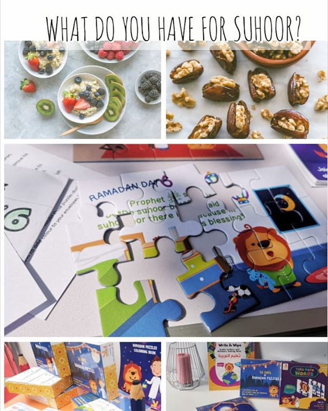 What are your suhoor ideas? Have you done your Ramadan Day 6 puzzles yet? Wakeup for suhoor with Asad the sleepy lion.  #YALLACOLOUR your envelopes #YALLABUILD your puzzles #YALLALEARN with Asad and Ali . What are your easiest suhoor ideas and what did your kids write on their suhoor list?  #ramadan #ramadanmubarak #ramadhan #ramadhanmubarak #ramadankareem #ramadhankareem #ramadanforkids #ramadhanforkids #islam #muslim #reminders #kidsactivities #learningforkids #islamic #islamicknowledge #eid #ramadhangift #eidgift #giftidea #kidsgifts