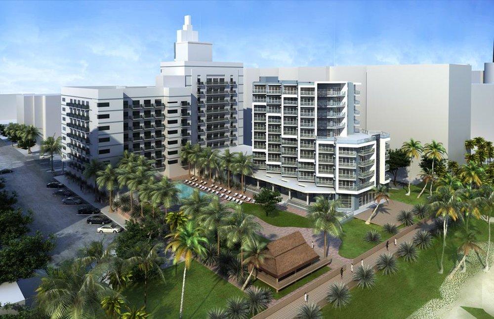 Cadillac Hotel, Miami Beach