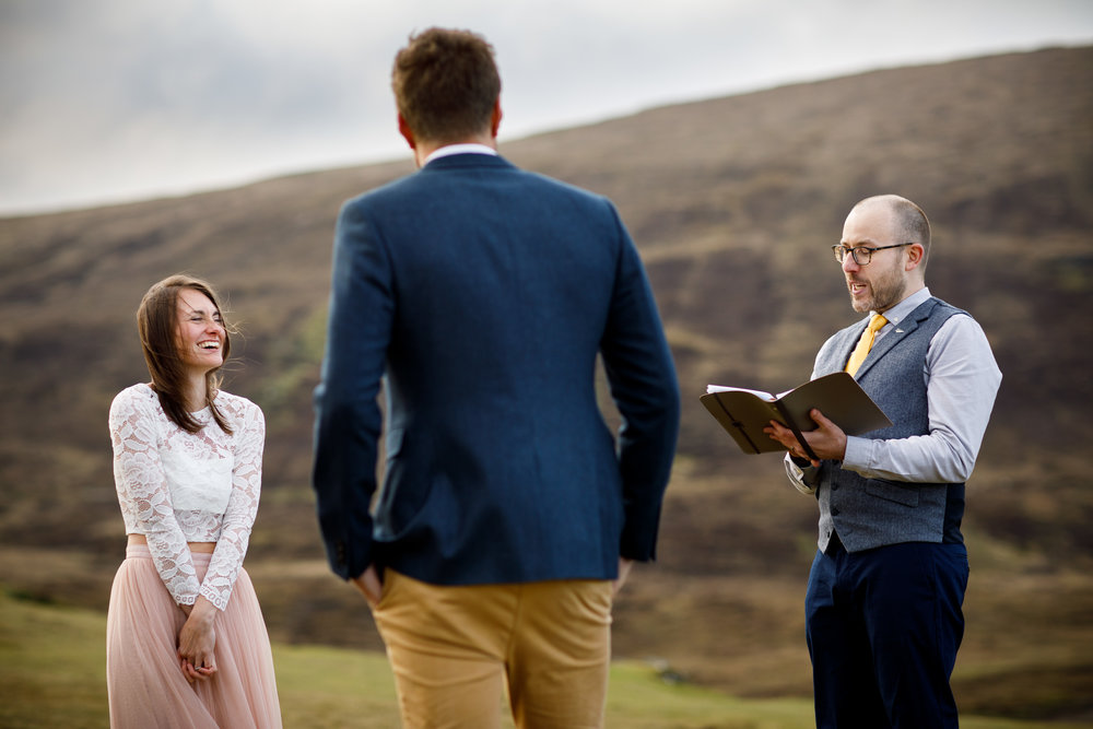 Soph & John, Vow Renewal, Isle of Skye, Scotland. Photo  Caroline-Alexander
