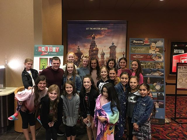 Such an awesome weekend for our dancers with their performance at Rockwall-Heaths Dancing and Desserts and then a screening of The Nutcracker and The Four Realms. We love our dance family!
