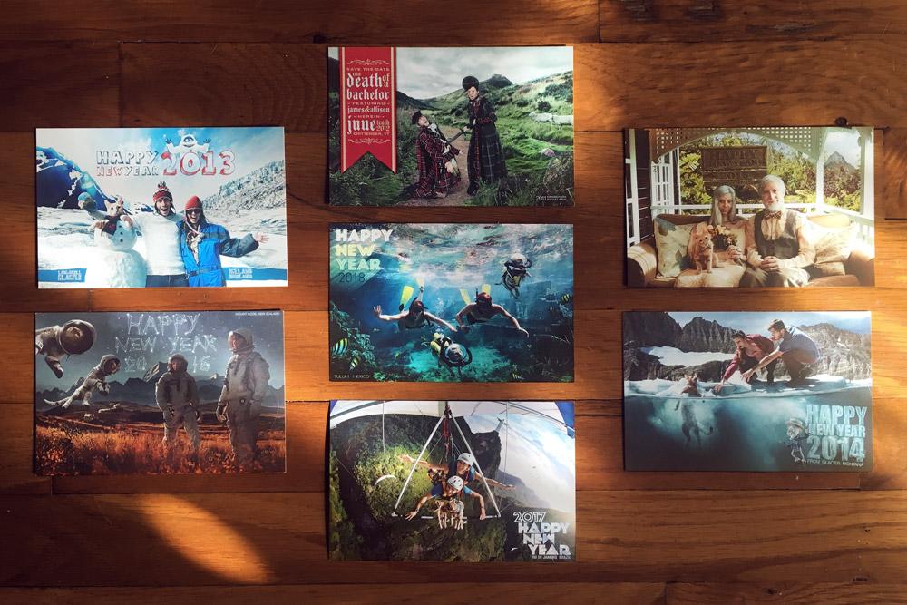 Postcards Front