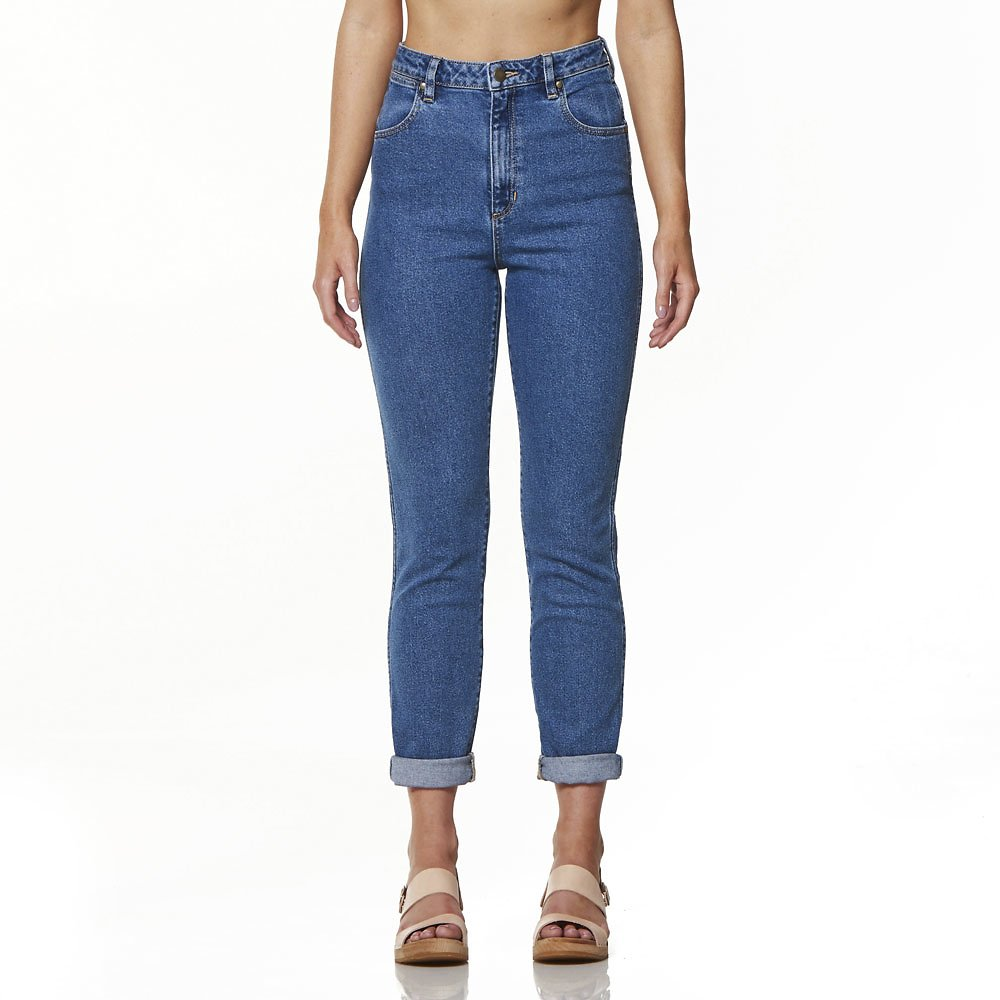 "HIGHWAISTED ""MOM"" JEANS: Wrangler, $139.95"