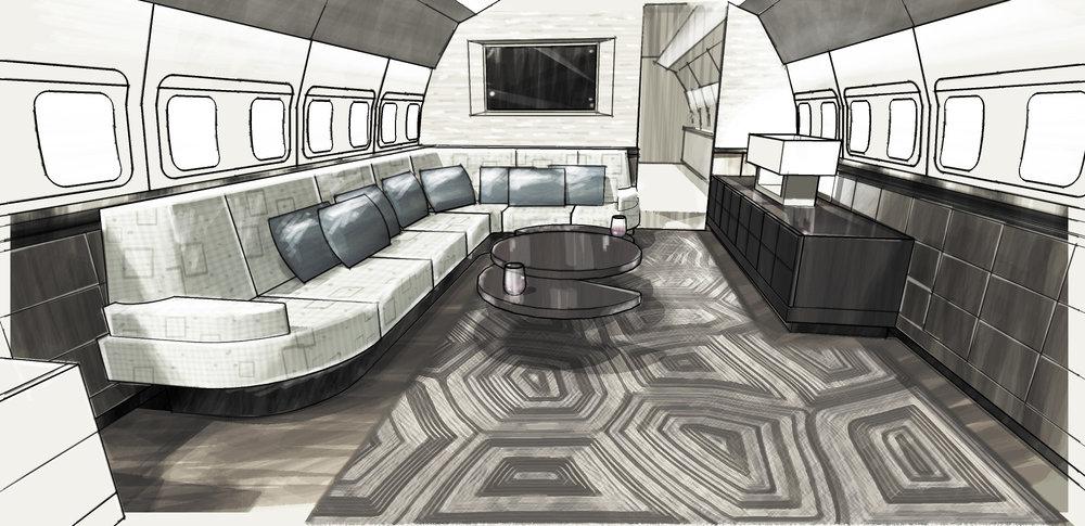 BBJ Lounge Concept
