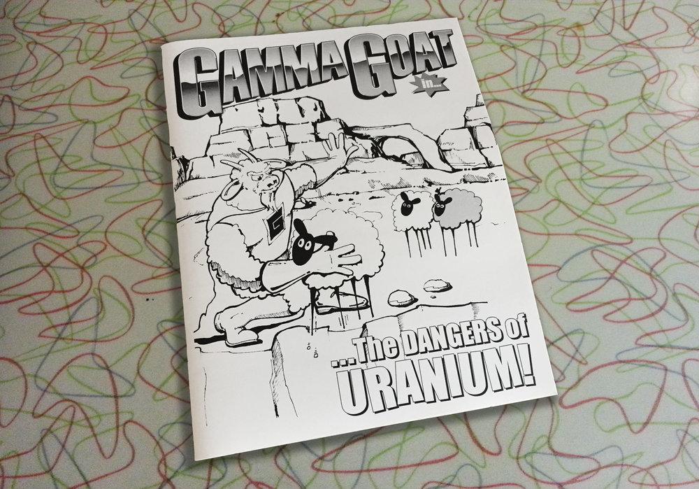 Gamma Goat Comic