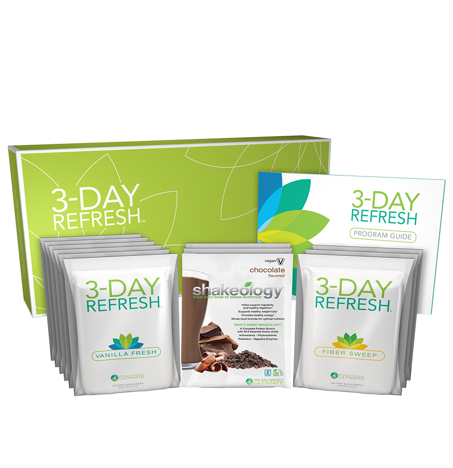 Revive & Refresh! The healthy alternative to liquid fasts! For when your diet gets off track... You go a little overboard on the weekends, a holiday, or while on vacation