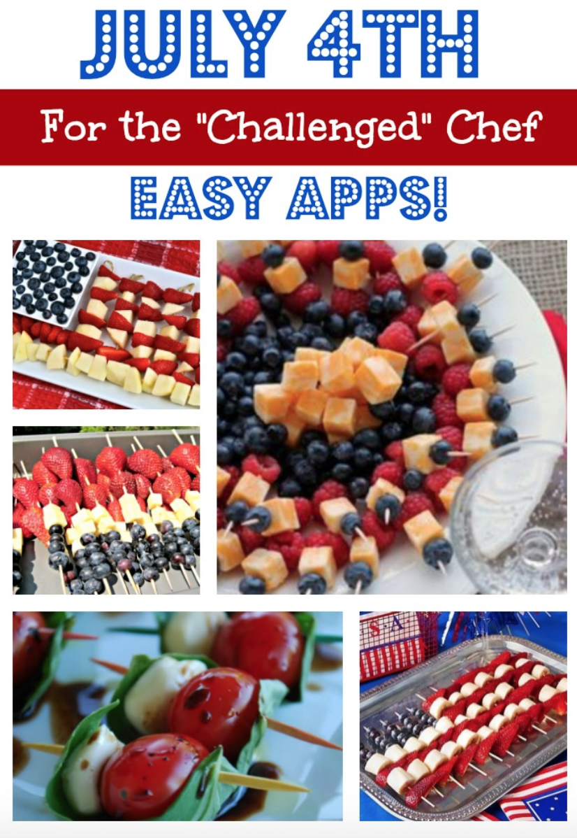 festive recipes for july 4th