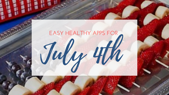 healthy appetizers for July 4th