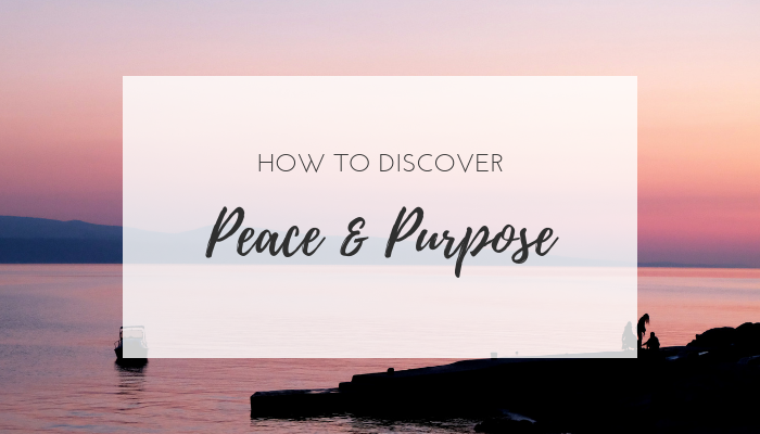 Peace and Purpose Higher Level Living Life Coach