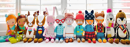 Gifts that Give Back Cuddle and Kind Dolls