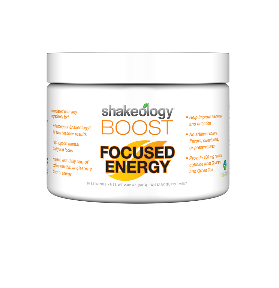 This unique boost helps increase your energy, focus, and mental clarity with ginseng and 100 mg of natural caffeine from guarana and green tea—NOT from sugars, chemicals, or artificial sweeteners.