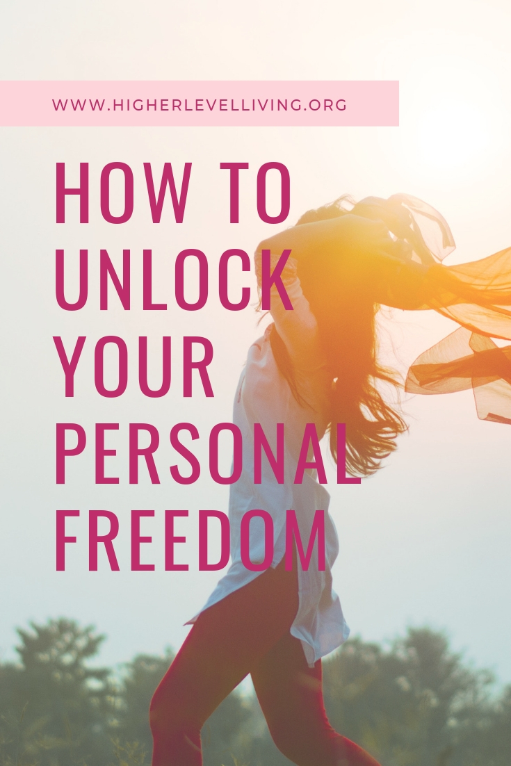 An activity to unlock your Personal Freedom