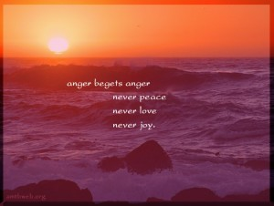 anger begets