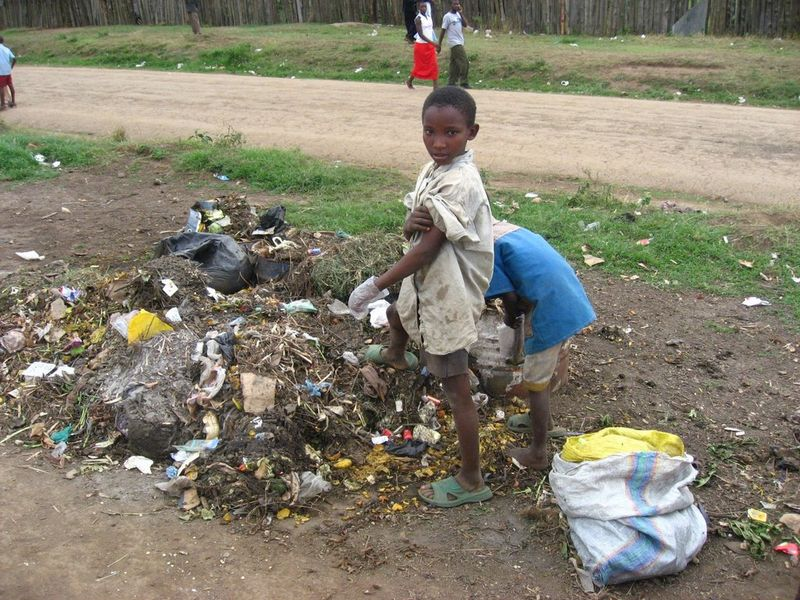 Trash kids