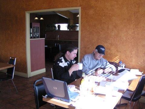 Matt and gary writing