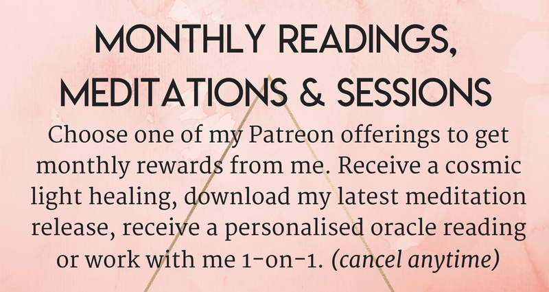 personal card reading oracle distance email skype online coaching healing patreon