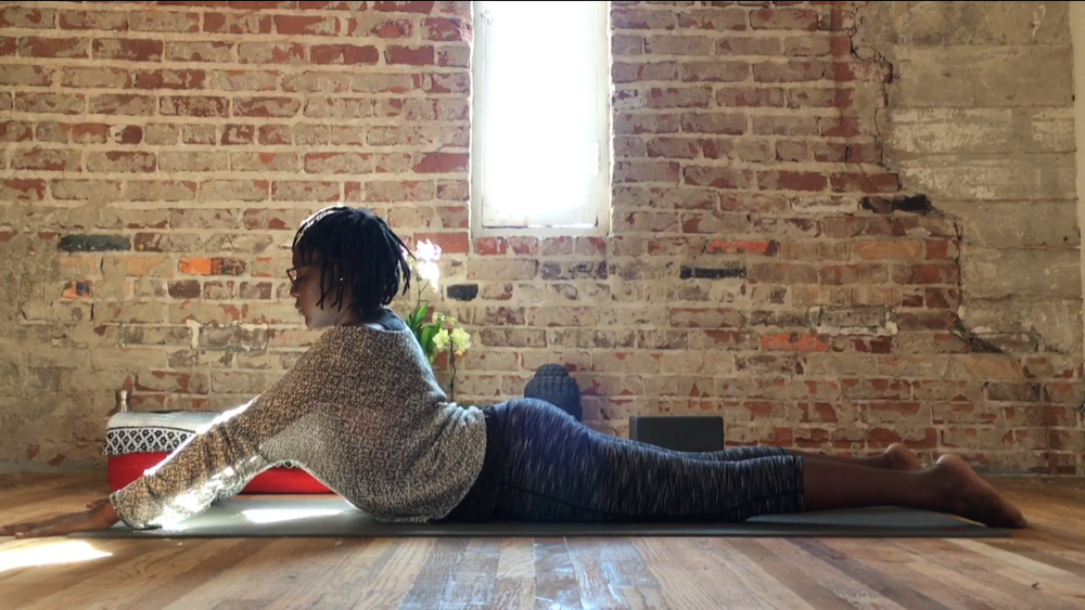 Yin Yoga for Lower Back Relief  - 35 mins