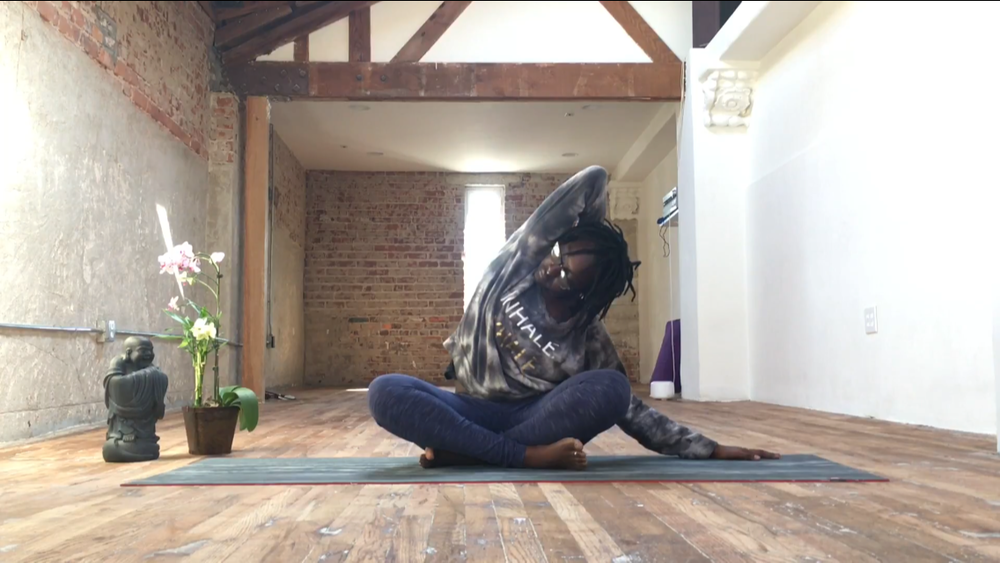 Deep Side Body Stretch - 20 mins