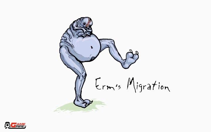 Erm's Migration (Start Screen)