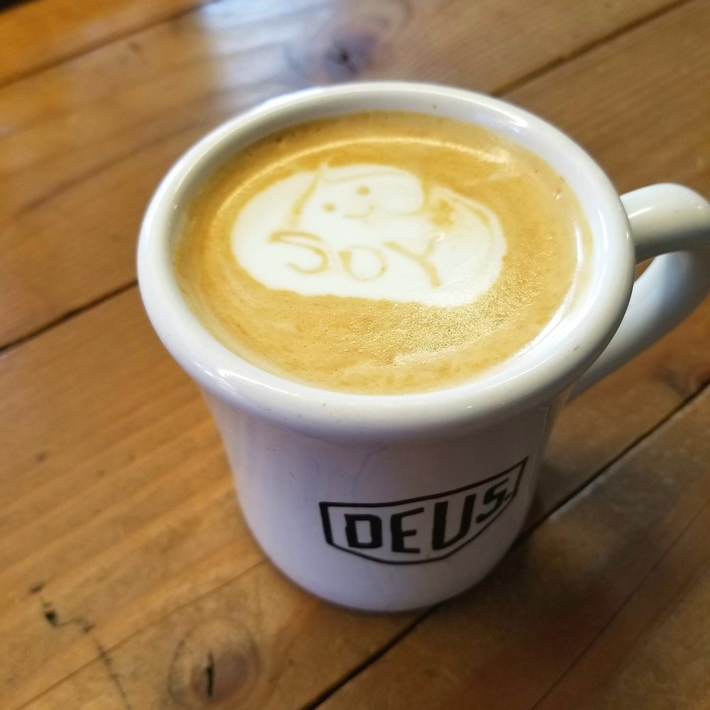 The proud and might soy latte of Deus Ex Machina.