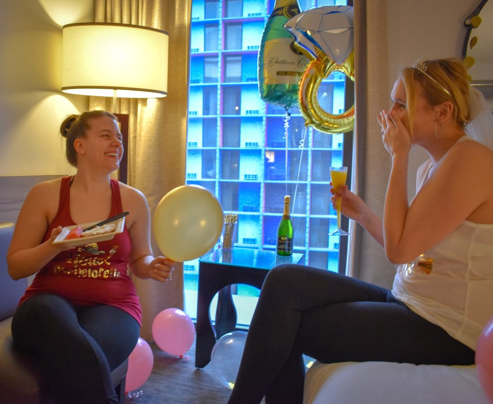 Uprooted-Traveler-How-To-Plan-a-Vegas-Bachelorette-Party-brunch-hotel-room.jpg