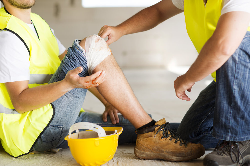 Worker's Comp Insurance - Make sure you have the right coverage for injuries to your team.