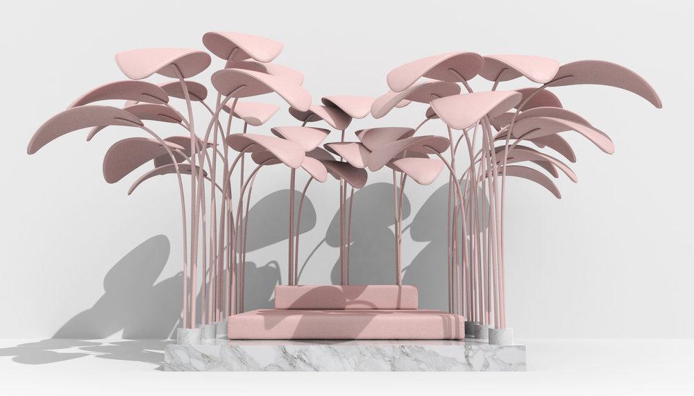 LE REFUGE  SEATING AREA / LOUNGE design Marc Ange 2018     VIEW DETAILS