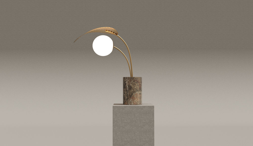 RefugE TABLE LAMP   Marc Ange 2018