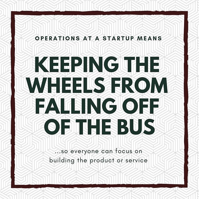 We keep things moving so your business can keep moving forward. . . . . . . #startups #scale #operations #smallbusiness #process #bossbabesrva #mastersofscale #operationalexcellence #growyourbusiness #growingpains #rvasmallbusiness #entrepreneur