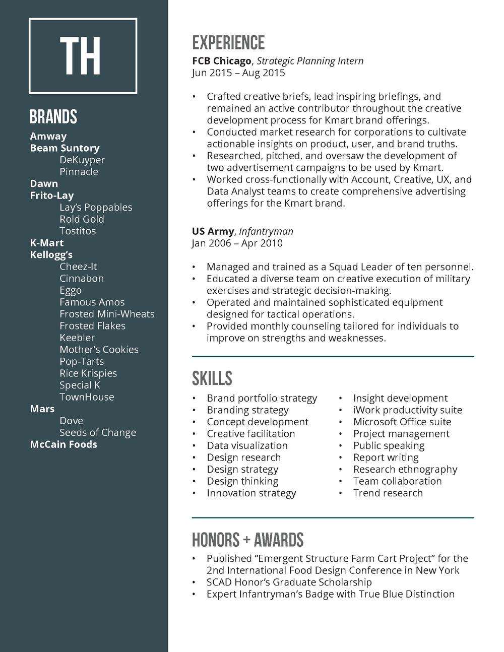Resume — Todd Hinkle