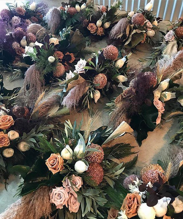 This is what a Lunar&Fox wedding looks like 🖤 // Brit & Luke // Mudgee // . . . . . #prophire #styling #floraldesign #floristry #flowers #events #parties #engagements #weddings #sydney #lunarandfox