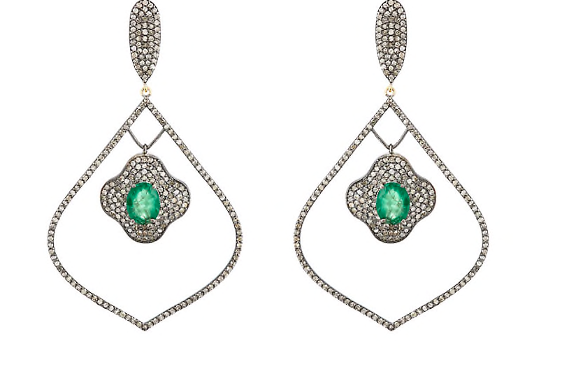 Copy of Arabesque Vert Earrings
