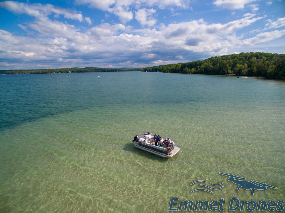 Walloon Lake Drone