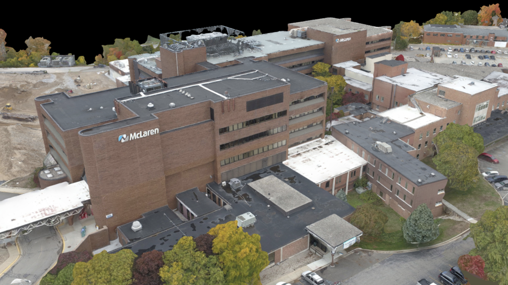 3D Model of McLaren Hospital.png