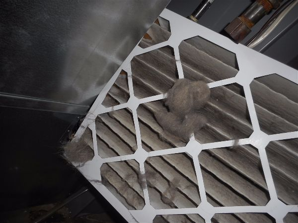 Dirty furnace filters tell a story...