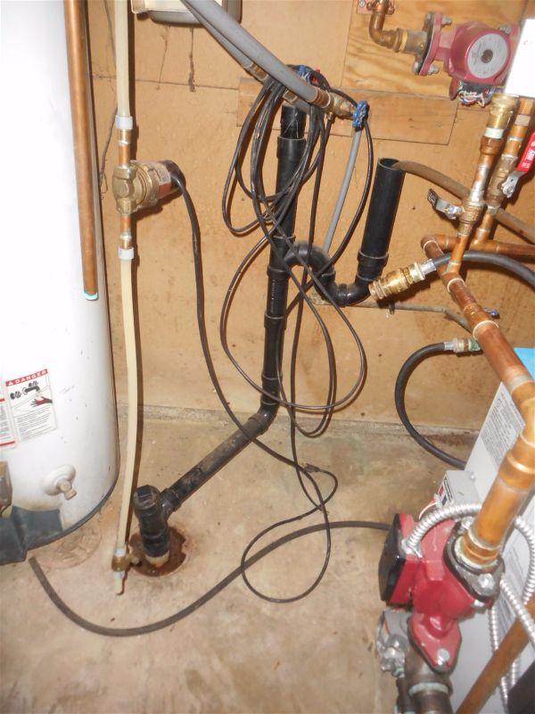 Improper plumbing...