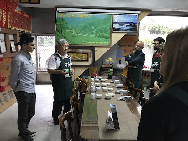 Jacob Bai and Thomas Shu, sharing wonderful bao zhong tea, and others!