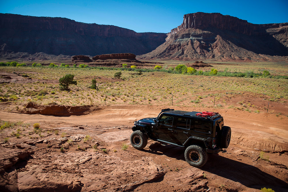 Another gorgeous October day in Moab…