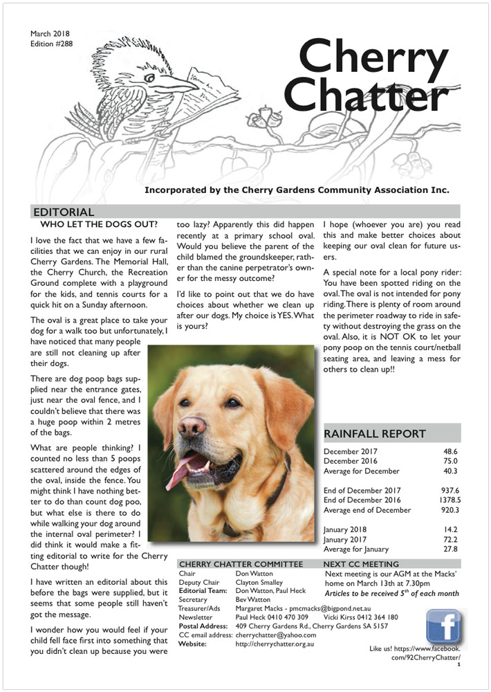 Edition 288 - March 2018