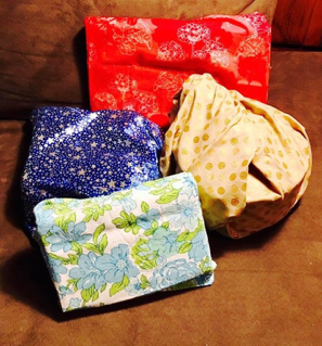 We may not have achieved zero-waste Christmases  - but we have successfully implemented fabric 'family gift bags' that we use and reuse at each birthday and Christmas, instead of gift wrap.